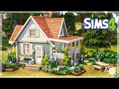 Sims 4 Mods, Sims 3, Building Plans, Building A House, Sims 4 House Plans, The Sims 4 Pc, Cute Cottage, Sims 4 Build, Sims 4 Houses