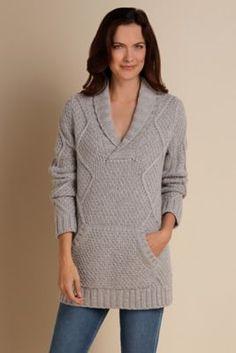 Jackie Sweater - Chunky Knit Sweater, Rib Knit Sweater | Soft Surroundings