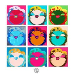 Border-Warhol, la última ovra de arte original de Miss Borderlike! #cuadros #retratos #missborderlike #marilynmonroe #andywarhol