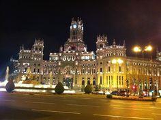 Plaza de Cibeles ( Madrid )