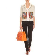mytheresa.com - Dolce & Gabbana - LEINENBLAZER MIT PRINT - Luxury Fashion for Women / Designer clothing, shoes, bags
