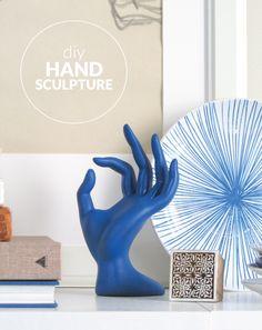 DIY Hand Sculpture A