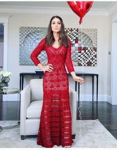 Gorgeous Crochet Maxi Dress Must-Have in Wardrobes – Designers Outfits Collection Mode Crochet, Crochet Lace, Crochet Skirts, Crochet Clothes, Knit Dress, Dress Skirt, Dress Red, Crochet Fashion, Beautiful Crochet