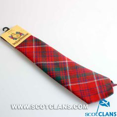 Clan Grant Wool Tartan Tie