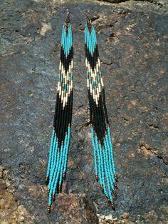 ♥native american beaded earrings