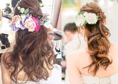 一番可愛い花嫁ヘア♡!海外風のゆるふわ感たっぷりなまとめ髪アレンジ10選♩