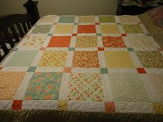 Strawberry Fields Layer Cake Quilt Pattern. $7.50, via Etsy.