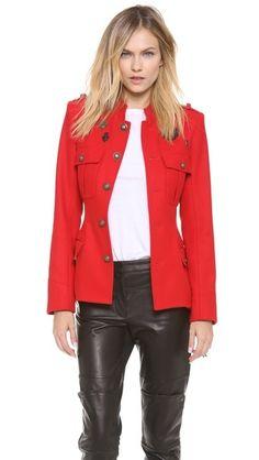 Skaist Taylor Cadet Medals Jacket. #fashion #women #jacket