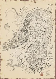 Dragon of the East Asia by In-Sine.deviantart.com