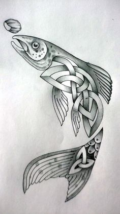 Celtic Fish by Tattoo-Design on deviantART
