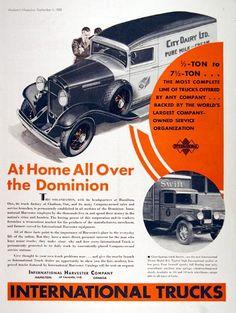 old international trucks old car ads home old car brochures rh pinterest com International Harvester Hats International Harvester Tractors