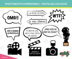 Photobooth Goya imprimibles gratuito