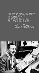 Walt Disney, he understood true book lovers Great Quotes, Quotes To Live By, Inspirational Quotes, Quotable Quotes, Book Quotes, I Love Books, Good Books, Walt Disney Quotes, Words Worth