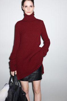 Celine, Pre-Fall 2011 oversized knits