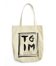 TGIM Tote (Thank God It's Monday. Love my kids. Love my work).