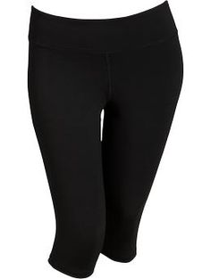 I need something to wear when I go on my walks!  Women's Plus Active Compression Capris | Old Navy
