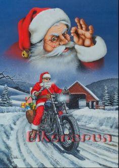 """Wine Country / Style Biker"" - Originals - All Artwork - David Mann - Motorcycle Art Motorcycle Art, Bike Art, Motorcycle Posters, Chopper Motorcycle, Vintage Christmas, Merry Christmas, Christmas Scenes, Christmas 2016, Christmas Wishes"