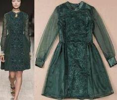 [ghyxh36216]Dark Green Vintage Tribal Embroidery Knee Length Bodycon Dress