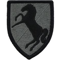 US Army 3rd Armored Cavalry Regt ACU Patch