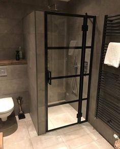 Douchedeuren op maat - Rebel Without Applause Bathroom Design Luxury, Bathroom Layout, Modern Bathroom Design, Small Bathroom, Bad Inspiration, Bathroom Inspiration, Toilet Design, Bathroom Toilets, Dream Bathrooms