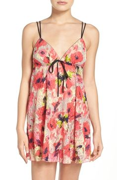 Josie Floral Lace Chemise available at #Nordstrom