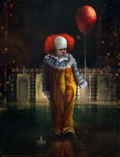 Pennywise: Awww... You want it don't you Georgie? Hmm... Of course you do... and there's cotton candy, and rides, and all sorts of surprises down here... and balloons too... All colors.     Pennywise: Do they float?     Pennywise: Ohh yes... They Float Georgie... They Float... and when your down here, with me... YOU FLOAT TOO!