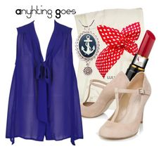 """""""Reno Sweeney - Anything Goes"""" by thebroadwaywardrobe ❤ liked on Polyvore featuring River Island, Kosta Boda, Carvela, broadway and anything goes"""