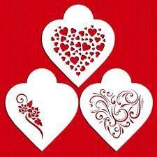 Contemporary Hearts Stencil Set by Designer Stencils