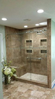 Check this link right below based upon Bathroom Remodel Ideas Small Restroom Remodel, Shower Remodel, Bathroom Design Luxury, Modern Bathroom Design, Master Bathroom Shower, Small Bathroom, Rustic Bathrooms, Bathroom Inspiration, Concrete Bathtub
