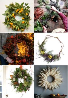 'Tis the season for making wreaths! Hither and Thither has a nice line-up of wreath-making tutorials - Hither and Thither
