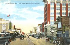 Central Avenue And Third Street Great Falls, MT