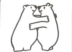 Intro : Week van de vriendschap : geef elkaar een eskimo-knuffel (knuffel met je neus)