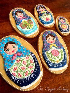 Matryoshka dolls | The Magpie Bakery