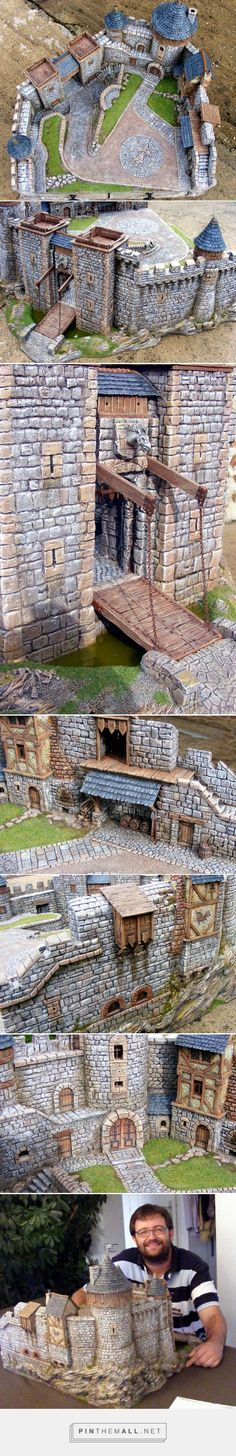 Place forte en Bretonnie - Page 4 - D�cors - Warhammer Forum - created via http://pinthemall.net