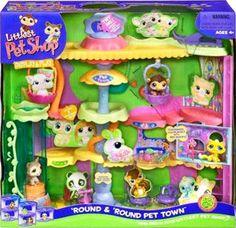 littlest pet shop toy play set