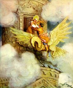 Russian fairy tale ~ The Wooden Eagle
