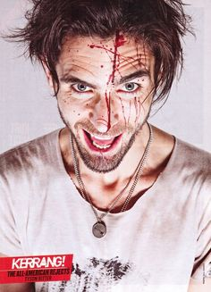 i like tyson ritter well enough as it is. but this picture. Tyson Ritter, Attractive Guys, Handsome, Hot, Sexy, Music, Musica, Sexy Guys, Musik