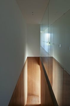 Staircase inside the DC2 House by Belgian architect Vincent van Duysen.