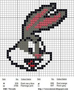 Here's a quick and easy to stitch Bugs Bunny-pattern! Beaded Cross Stitch, Crochet Cross, Cross Stitch Charts, Cross Stitch Designs, Cross Stitch Embroidery, Cross Stitch Patterns, C2c Crochet, Pearler Bead Patterns, Perler Patterns