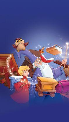 Disney Sword of the Stone Disney Pixar, Arte Disney, Disney Cartoons, Disney Animation, Disney Art, Images Disney, Disney Pictures, Disney And More, Disney Love