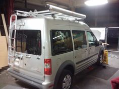"Photo: minivan Ford Transit Connect Camper Campervan MoreheadDesignLab.com ""transit connect camper"" ""transit connect campervan"" ""connect Camper"" ""transit camper"" ""transit campervan"" ""connect campervan"""