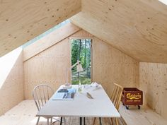 A Perfectly Spartan Swedish Cabin by Tove Fogelström