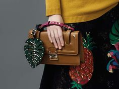 Valentino Gets Heavily Into Bag Charms for Resort 2017 (and the Bags are Pretty…