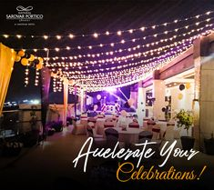 Jhansi's first ever rooftop banquet facility! For reservations, contact 0510 233 0800 .