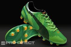 f2b9a8b95 Puma Evospeed 1 C.M FG Boots - Green Black Orange