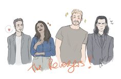 My new Favorite Team :D I love the new Thor! Sooo amaazing and the characters are everything!!