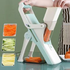 Vegetable Snacks, Vegetable Slicer, Great Gifts For Wife, New Home Gifts, Fast Easy Meals, Healthy Meals, Design Hotel, Multifunctional, Innovation Design