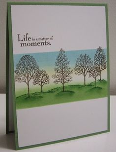 Life is a matter of moments - CAS155 by Loll Thompson - Cards and Paper Crafts at Splitcoaststampers