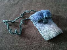 Kännykkäpussi villahousuista