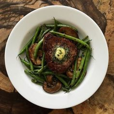 From @excessmatters grassfed filet with garlic butter  blistered haricot vert and mushrooms  #keto #ketomeals #lchf #lowcarb #highfat #atkins #bestdietever #whatdiet #fatisfuel #ketogenic #kcko #eatfatloseweight #lowcarbhighfat #ketosis #ketocooking #lowcarbcooking #lowcarbliving #ketoliving #ketofoods #xxketo #ketodiet #ketodinner #weightloss #lifestylechange #ketofitguide #ketofitchallenge